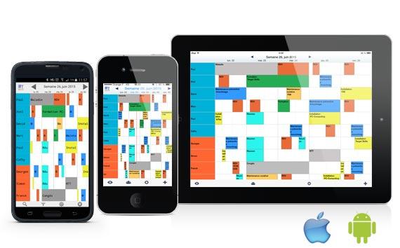Pianifica con PlanningPME mobile App per Android e iOs