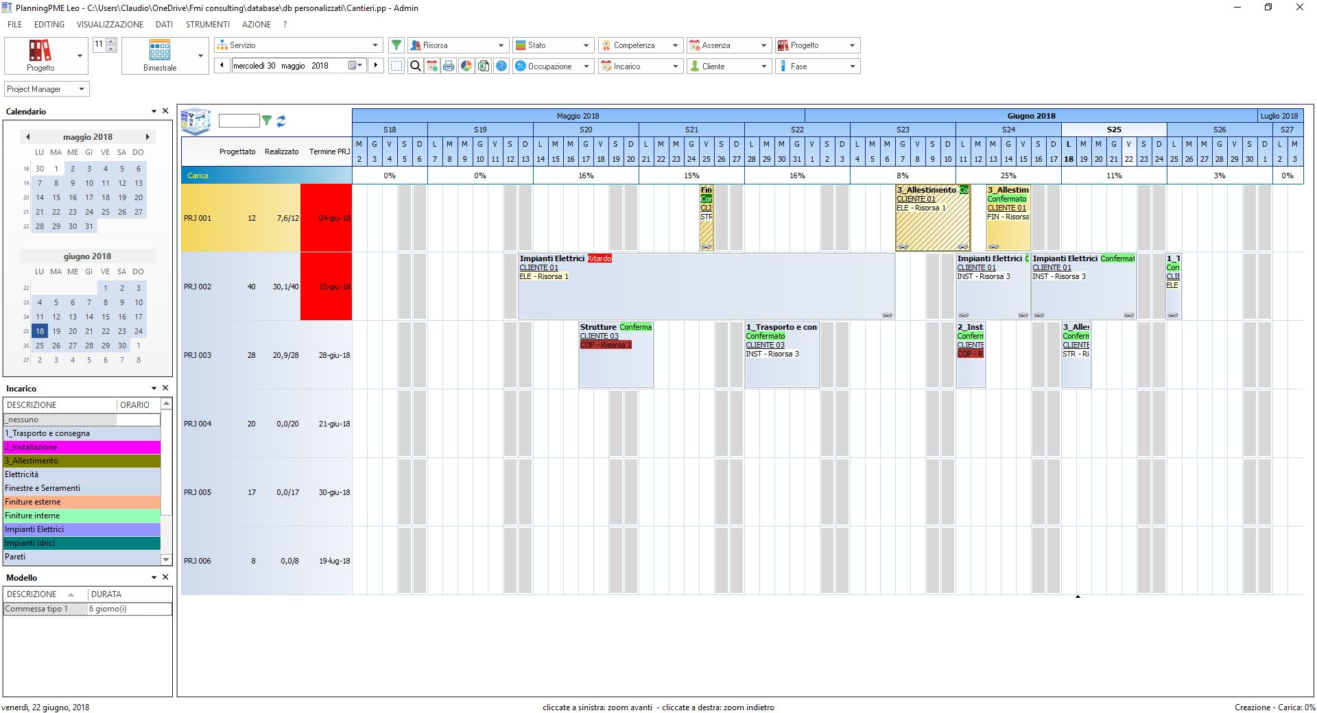Monitoraggio-Progetto
