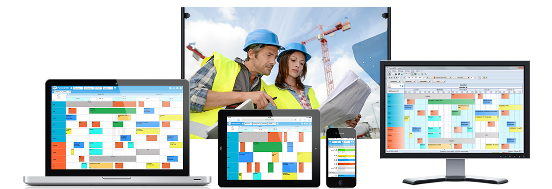 Planning web device responsive