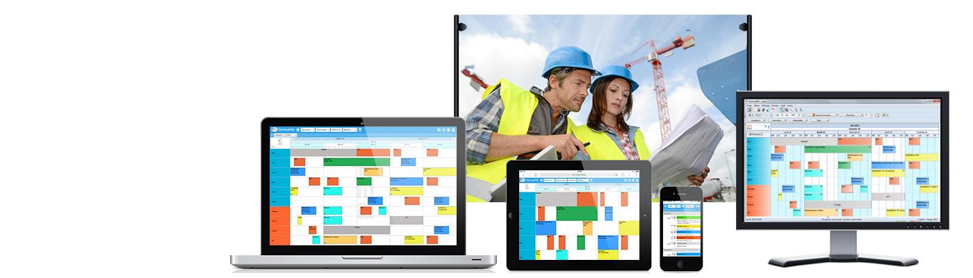 PlanningPME Web Access  in versione RESPONSIVE